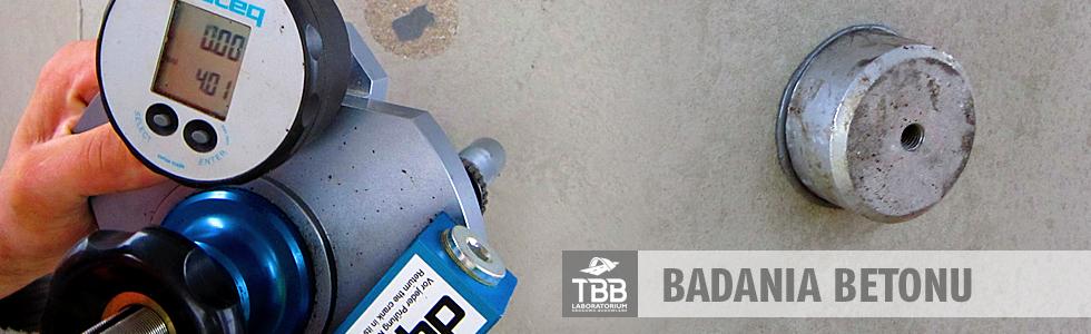 Badania Betonu - TBB Laboratorium Drogowo-Budowlane